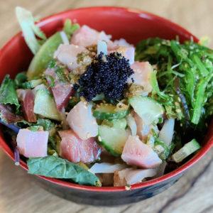 Hamachi Poke Bowl